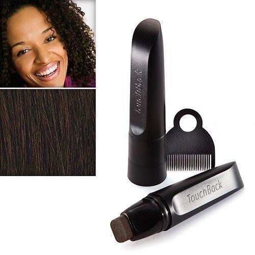 TouchBack - Haarfärbestift Dunkelbraun Haarfärbemittel in Stiftform - Dunkelbraun