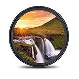 waka MC UV filter 58mm, Ultra-Slim Objektiv UV Filter 16 Schichten Multi-Beschichtung Ultraviolett Schutzfilter für Canon Nikon Sony Alles DSLR