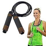 Huttoly Springseil Sport, Jump Rope Kinder 3.0M Speed Rope Seilspringen Fitness Für Fitness, Ausdauer & Abnehmen