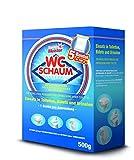 Sauber Meister WC Reiniger Schaum | Effektiver WC-Schaum TV Reiniger| ALS WC Zauberschaum bekannt | Urinsteinlöser & WC Tabs Alternative | Idealer Kloreiniger