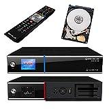 GigaBlue UHD UE 4K SAT TV Linux Receiver 2X DVB-S2 FBC Twin Tuner 4X Pip CI SmartCard Streaming Ultra HD 1 TB Festplatte