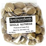 JustIngredients Essential Muskatnuss, Nutmeg, 1er Pack (1 x 250 g)