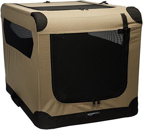 AmazonBasics - Hundekäfig, weich, faltbar, 76 cm