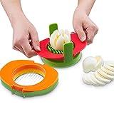 Pawaca Eierschneider, gekochtes Ei Slicer,Slice hart gekochte Eier, Eierschneider in Küche Werkzeug