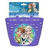 Disney Kinder Fahrradkorb Frozen, Mehrfarben, S