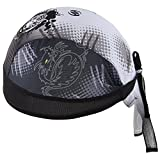 HASAGEI Sports Bandana Cap Schwarz Rot Weiß Herrem Damen Biker Bandanas Kopftuch Hat (Tiger)