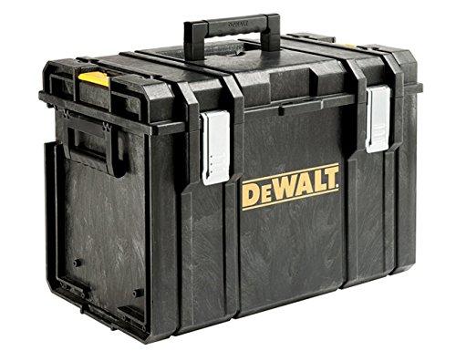 DeWalt Tough Box Werkzeugbox / Werkzeugkiste (sehr geräumige, stabile und tiefe Werkzeugbox für große Elektrowerkzeuge, IP65 - staubdicht und spritzwassergeschützt, bis 50kg Traglast), DS400