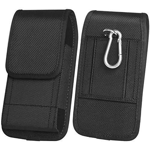 ykooe Handy Gürteltasche Nylon Hüftentasche mit Klettverschluss Armee-Stil Handy Schutzhülle Tasche für Smartphone als Geschenk Telefon
