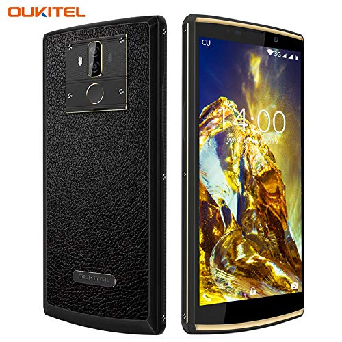 [10000 mAh Akku] OUKITEL K7 Power Pro Handy,4G LTE Smartphone ohne Vertrag, Octa-core 4GB RAM+64GB ROM,Android 9.0,6.0' HD+ Display, 13MP+2MP+5MP Kameras,9V / 2A Schnellladung,GPS,OTG