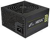 FSP Fortron Hexa+ 500, PC Netzteil 500 Watt, Kompatibel mit ATX 12V V2.4 & EPS 12V V2.92, 3 Jahre Hersteller Garantie, 5 Millionen US-Dollar Produkthaftungsversicherung, schwarz
