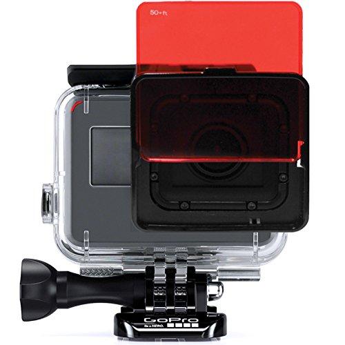 SANDMARC Aqua Filter: Tauchen Filter für GoPro Hero 6 und Hero 5 Super Suit - Rot, Magenta und Gelb Filter Set - Tauchen und Schnorchel Zubehör - 5 Pack