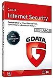 G Data Internet Security (2018) | Antivirus Software | Upgrade für 3 Windows-PC | 1 Jahr
