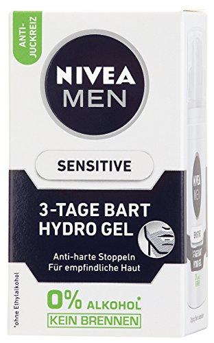 Nivea Men Sensitive 3-Tage Bart Hydro Gel, 1er Pack (1 x 50 ml)