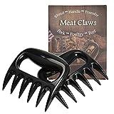 FungLam 2 Stück Pulled Pork Krallen Meat Claws Fleischkrallen Fleischgabel für BBQ Fleisch Shredder für Barbecue Bärenklauen Grill Krallen für Zartes Fleisch
