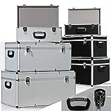 Masko 3er SET Alu Boxen  Alubox  Alukiste  Werkzeugkoffer  Werkzeugkasten  Transportbox | Werkzeugkiste | Lagerbox NEU Werkzeug Box | Farbe: Silber