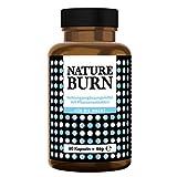 Natureburn - Natürlicher Nacht-Fatburner, Abnehmen + Appetitzügler + Schlafsupport, Diät im Schlaf, die Nummer 1 Rezeptur auf Naturbasis, Made in Germany nach ISO und HACCP, 60 Kapseln