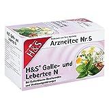H&s Galle- und Lebertee N Filterbeutel 20 stk