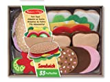 Melissa & Doug - 13954 - Filz-Lebensmittel-Set für Belegte Brote