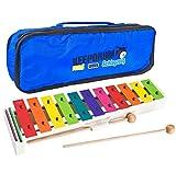 Sonor BWG Boomwhackers Kinder Glockenspiel + Keepdrum MB01 Tasche Bag