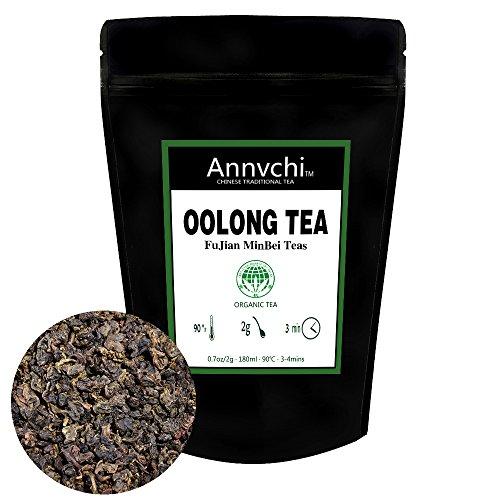 Oolong Tee zum Abnehmen (86 Cups) - Oolong Tee Lose - Gewichtsverlust Detox Tee - 100% Chinese Natürlicher Loser Oolong Blättertee - (170g)