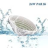 Toplanet 48w Unterwasser Led Beleuchtung Pool Lampen Wasserdicht IP68 RGB Wandhalterung für Teichbeleuchtung, Pool Dekoration