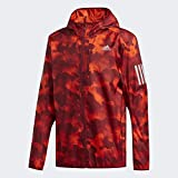 adidas Performance Own The Run Laufjacke Herren orange/rot, L