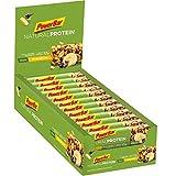 PowerBar Natural Protein Riegel aus Sojacrisps, Erbsenprotein, Erdnüssen und Sojabohnen – Eiweiß-Riegel, Fitness-Riegel, Müsli-Riegel – Vegan – Banana Chocolate (24 x 40g)