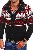 Carisma Strickjacke Norweger Pullover 7011 [Dunkelblau, 3XL]