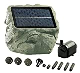 Royal Gardineer Solar Teichpumpe: Solarbetriebene Teichpumpe 'Biosphere' (Solarpumpe Teich)