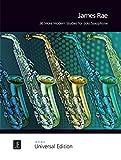 36 More Modern Studies für Saxophon solo (S/A/T/Bar)