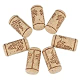 Natürliche Korken, Bewinner 100PCS 22 * 44mm Natürlicher Korken für selbst gemachte Weinabfüllung, gerade Korken aus Holz Weinflaschenverschluss für die meisten Weinflaschen auf dem Markt