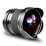 Neewer 8mm 1:3,5-22 Manueller Fokus Asphärisches HD Fisheye Objektiv für Canon EOS 80D 77D 70D 60D 60Da 50D 7D T7i T7s T7 T6s T6i T6 T5i T5 SL2 und SL1 digitale Digital SLR Kamera