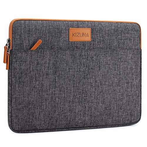 KIZUNA Tablet Tasche 10 Zoll Laptop Hülle Sleeve Bag Notebooktasche Für 9.7' 10.5' 11' iPad Pro/10.5' iPad Air/10 Microsoft Surface Go/10.5' Samsung Galaxy Tab/10.8' Huawei MediaPad M5 Pro, Braun