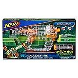 Hasbro E0733EU4 - N-Strike Modulus Shadow Ops Evader transparenter Spielzeugblaster, mit Beleuchtung