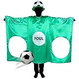 CoolChange Party Kostüm Torwand mit Fußball Hut