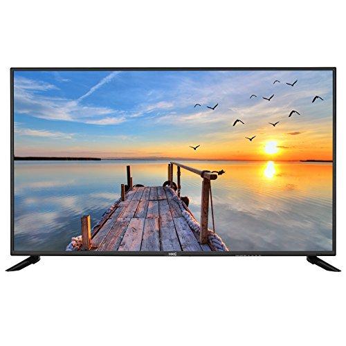 HKC 43F6 43 zoll (109 cm) LED Fernseher ( Full HD, TRIPLE TUNER, DVB-T2 / T / C / S2 / S, H.265 HEVC, CI+, Mediaplayer via USB ) [Energie Effizienzklasse A] [Energieklasse A]