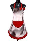 StillCool Schürzen Kochbekleidung Kochschürze Küchenschürze Latzschürze mit Tasche für Frauen Damen - Geschenk zum Muttertag