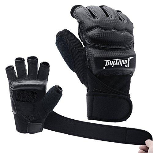 Xinluying MMA Handschuhe Boxhandschuhe Boxsack Sandsack Kickboxen Kampfsport Taekwondo Sparring Bandage Herren Damen