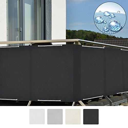 Sol Royal SolVision Balkon Sichtschutz PB2 PES Balkonumspannung aus Polyester 90x300 cm Oder 90x500 cm Diverse Farben