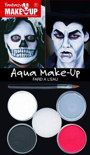 KREUL 37085 Fantasy Aqua Make Up Picture Pack Dracula/Tod