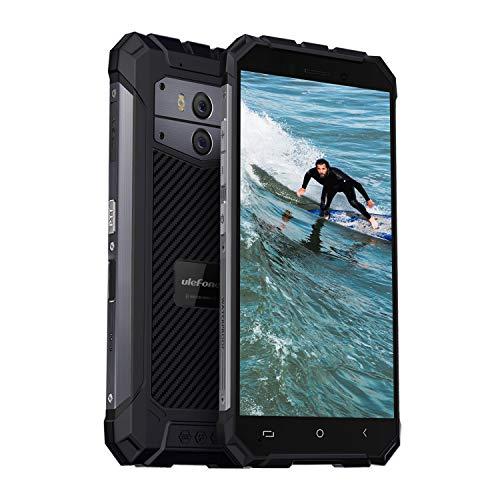 Ulefone Armor X IP68 Outdoor Smartphone ohne Vertrag (5.5 Zoll HD+ Infinity Display, 2GB + 16GB, 256GB erweiterbar, Android 8.1 Oreo, Hauptkamera 13MP+5MP, Dual SIM, NFC, Wi-Fi) Dunkelgrau