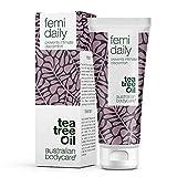 Australian Bodycare Femi Daily (100ml). Intimpflege mit natürlichem Teebaumöl für die tägliche Pflege. Verhindert intime Beschwerden im Genitalbereich wie Juckreiz, Reizung, Brennen und Trockenheit - Bekannt aus der Apotheke