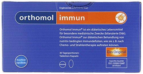 Orthomol Immun Tabletten/Kapseln Kombipackung, 30 Stück, 1er Pack  (1 x 120 g)