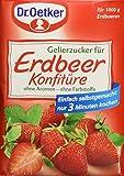 Dr. Oetker Gelierzucker für Erdbeer Konfitüre, 7er Pack (7 x 500 g Packung)