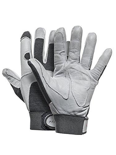 Pfanner Handschuhe Montage aus robustem Ziegenleder, Größe:M