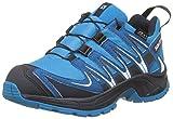 Salomon Kinder XA Pro 3D CSWP Trailrunning/Outdoor-Schuhe, Blau (Hawaiian Surf/Mykonos Blue/Navy Blazer), Gr. 38