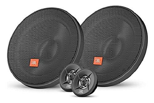 JBL Stage 600CE 6,5' (165 mm) Komponenten-Lautsprechersystem (Tieftöner und Hochtöner) 2er Pack - Schwarz