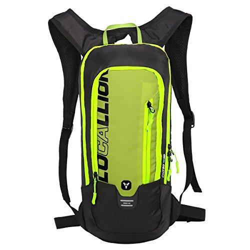 LOCAL LION 6L Mini Hydration Pack Fahrradrucksack Ultraleicht Perfekte Passform Begleiter für Trinkblase bis 2L Nicht enthalten Gelb