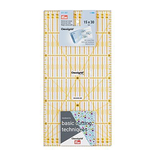 Prym 611307 Rollschneide-Lineal 15 x 30 cm
