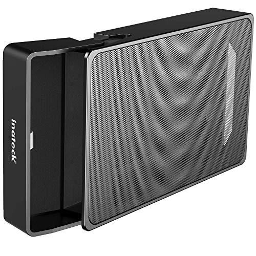 Inateck Festplattengehäuse 3.5 Zoll USB 3.0 mit Metallmaschen für 3.5' HDD, unterstützt UASP, SA01003